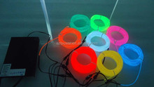 Colourful waterproof el wire,el strip,el cable for novel decoration