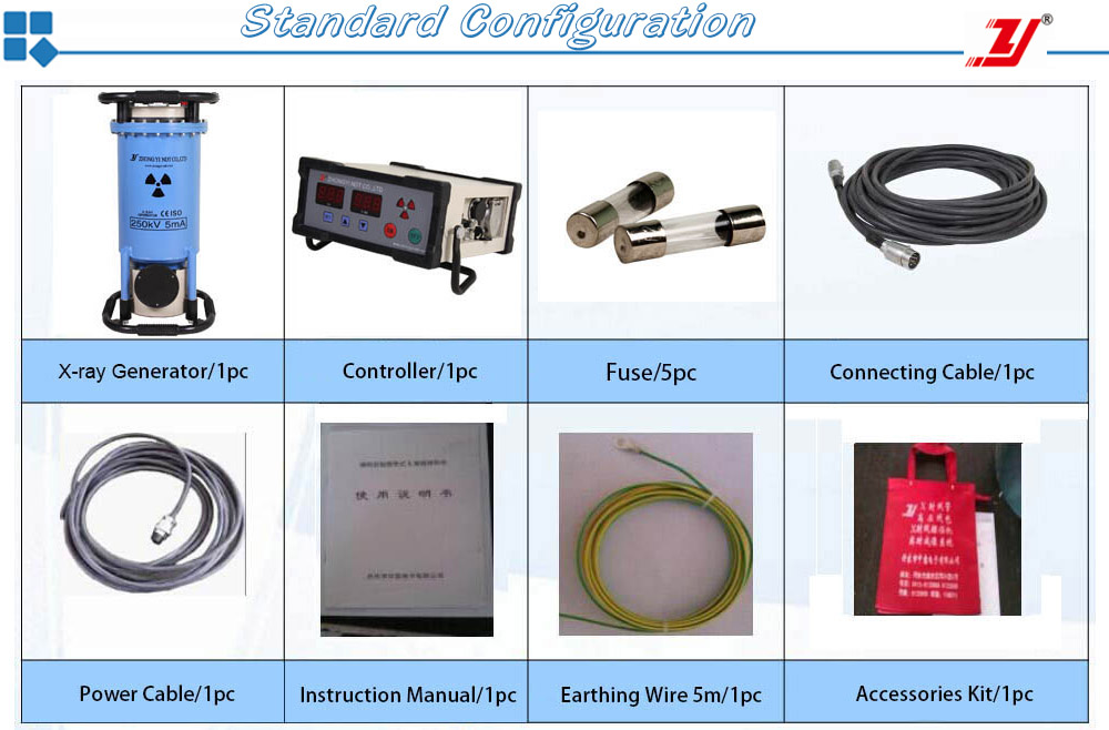 Industrial Portable X-ray Welding Test Machine