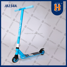 100mm Cheap kids plastic frog flicker scooter for adult JB234A (EN14619 Certificate )