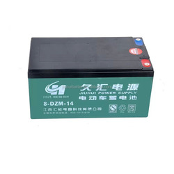 best 64V high capacity 8-DZM-14 electric Motorcycle Battery