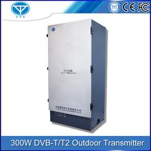 wireless tv 400W transmitter portable for mpeg4 dvb-t hd tv transmission