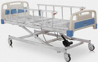 Mesh panel Electric hospital bed