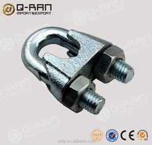 Galvanised China Hardware Din741 Wire Rope Clamps Rope Clip