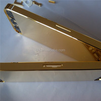 for iphone 5 24k gold plating back cover for iphone 5 gold body for iphone 5 gold