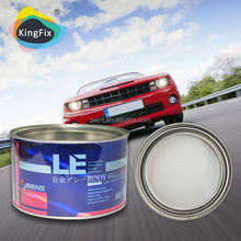Hot sale auto filler used for indentation/chemical body filler supplier