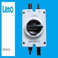 IP66 1000V 25A PV DC Isolator Switch with MC4 Approve SAA TUV CE IEC CB