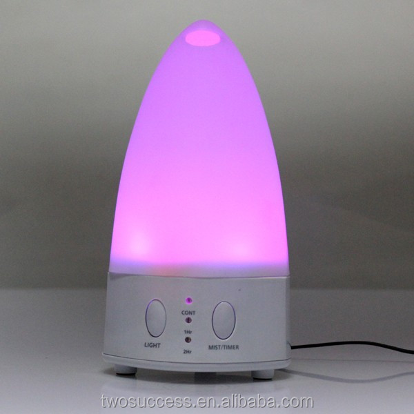 Cool Mist Whisper-Quite Humidifier with 4 Timer sets Color Changing Light 2