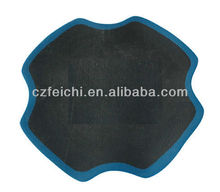 Tire repair tube cold patch