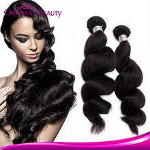 Promotion 32 inch Brazilian human hair extension one piece