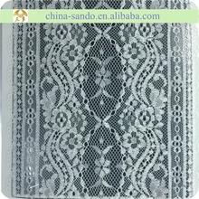 20cm jacquard elastic stocklot lace trim
