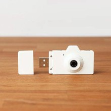white camera shape usb flash drive , fashion design usb sticks
