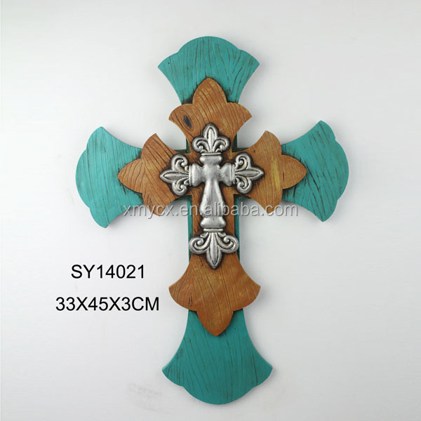 Christianism Cheap Decorative Blue Wall Crosses Sale - Buy Wall ...