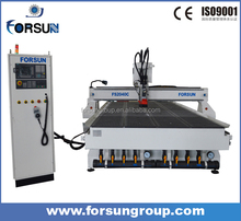 Germany Siemens controller excitech cnc router/atc cnc router 2040 for wood furniture