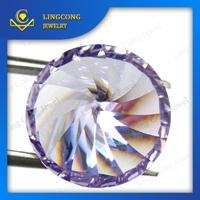 round brilliant millenium cut zircon cz gems