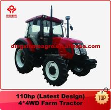 Wheel Tractor Farm/Garden Tractor 110HP 4WD