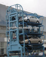 Smart rotary car parking lifts system