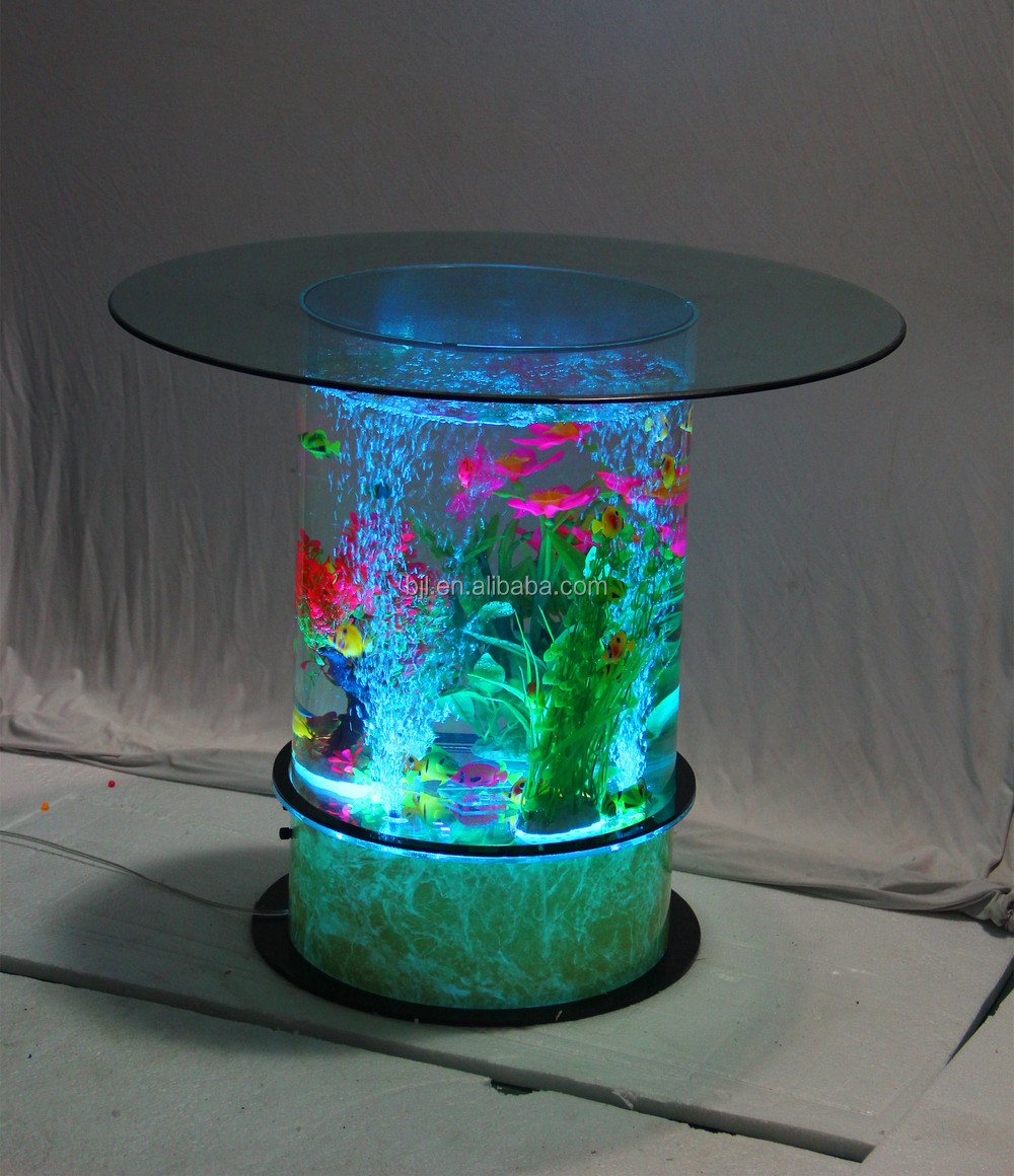 led lighting acrylic aquarium bar cafe restaurant. Black Bedroom Furniture Sets. Home Design Ideas