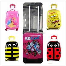 small lovely 4 wheeled kids trolley luggage