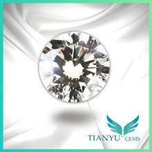 5.25mm AAA Round White CZ Stone for Hair Jewelry
