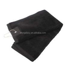 new 2015 new product alibaba china golf Cotton Golf Towel (Size: 55x40cm)