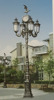 Decorative Cast Aluminum Street Lamp Post with five lamp Street Lamp Post