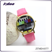 HOT sales fashion Chinese style TV design watches made in china