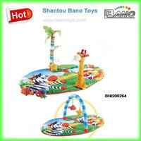 Padded Play Mats for Babies ,Plush Baby Play Mat BNI200264