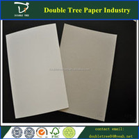 coated duplex board white back/grey board paper/laminated grey board