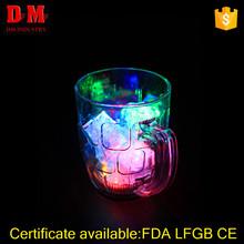 300ml FDA adult pub flashing led plastic cup