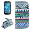 cell phone case wallet leather case for alcatel pop c5