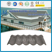 Stone Coated colored stones different types of roof tilesMetal Roofing Tile