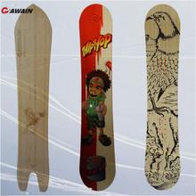 2014 New Design Winter Sport Custom Bamboo Snowboard Manufacturers