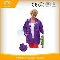 foldable rain coat fashion ladies raincoat rain wear cape