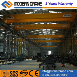 Remote Control 3t, 5T , 10t Single Girder Overhead Crane with Limit Switch for sale