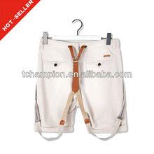 ( # Tg509-1s ) 2013 moda bolsillos con solapa de la correa del diseño <span class=keywords><strong>bermudas</strong></span> pantalones cortos para hombres