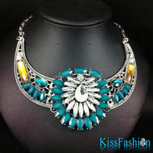 Newest Fashion design best quality fast delivery 2014 Women Girls Necklace acrylic necklace case