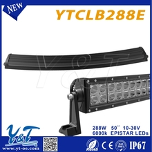 Exquisite Durable and High class led light bar cover for offroad ATV 4x4 truck boat tractor marine