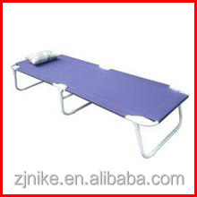 steel and polyester 22mm tube bungee folding bed