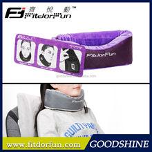 2015 Factory Wholesale Innovative Folding Adjustable Cute Car Neck Pillow OEM
