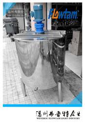 liquid detergent/soap/shampoo mixing tank