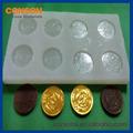 líquido compuesto de caucho de choclate para la fabricación del molde