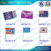 Eco-Friendly Polyester Hand Flag, Custom Printed Hand Flag (NF01F03013)