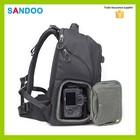 2016 SANDOO mais novo produto câmera mochila à prova de água dslr camera bag