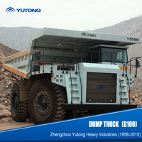 YUTONG 100 Ton Military Quality Four Wheel Drive Dump Truck