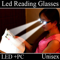 New Style LED Light Reading Glasses for old people novelty 2014 xp16