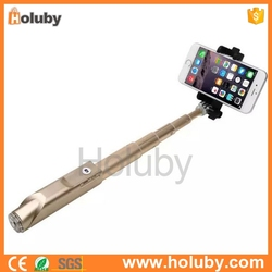 2015 fashion Professional IBO-08 Bluetooth Extendable Handheld Monopod Selfie Stick Compatible with iOS Android Phone Camera