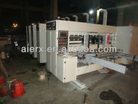 two color flexo printing slotting machine/corrugated board making machine/ carton packaging machinery CE & ISO9001 Certifized