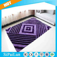 Modern design purple Home Use futsal carpet