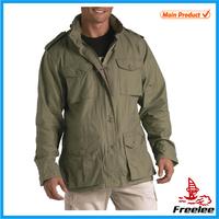 Mens vintage lightweight alpha military m65 jacket