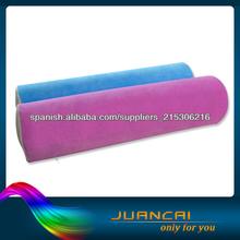 alta calidad memoria viscoelástica relleno de espuma almohada cilíndrica